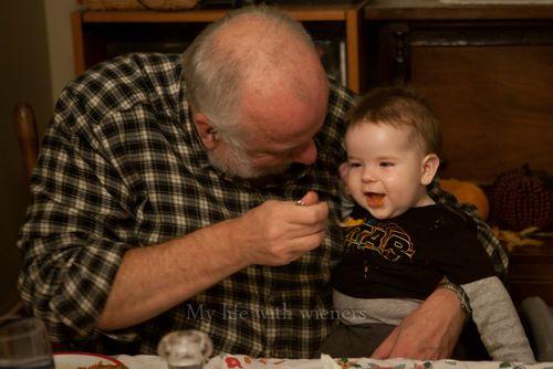 With Grandpa 002