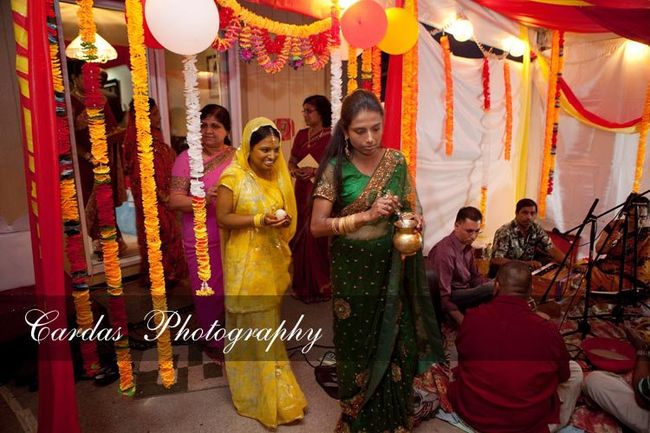 Indian wedding Oregon Haldi night (2)