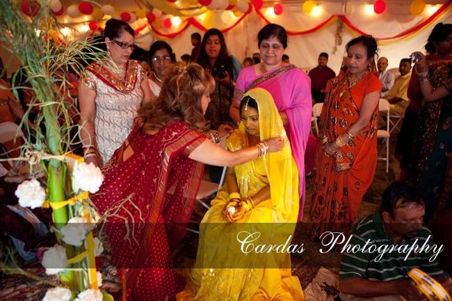 Indian wedding Oregon Haldi night (7)