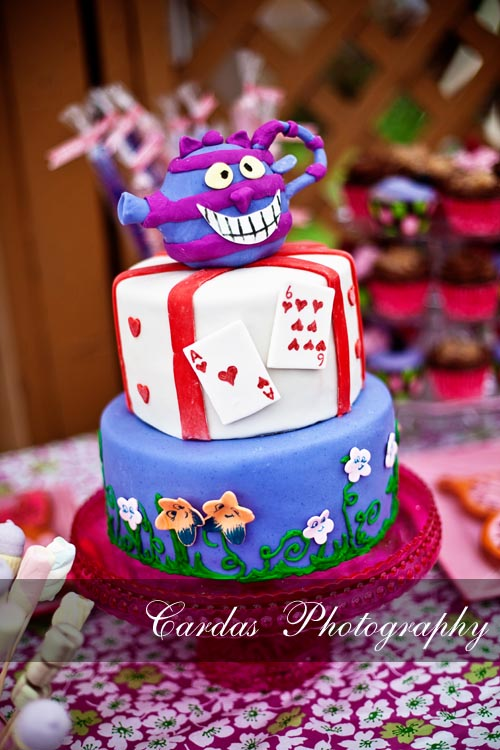 Alice in Wonderland birthday party 002