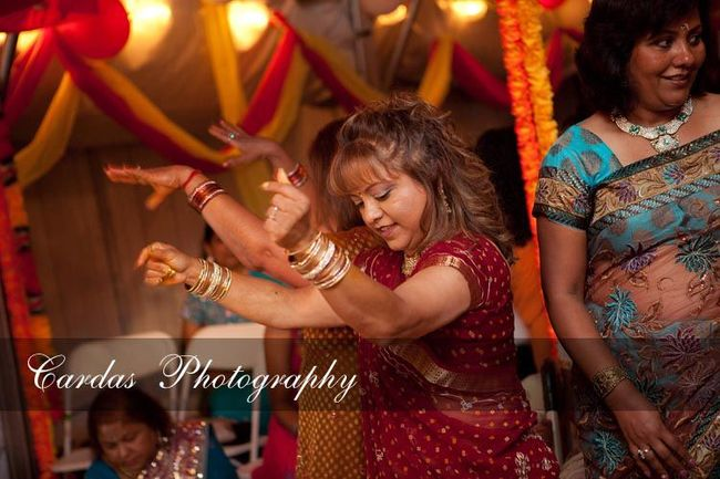 Indian wedding Oregon Haldi night (4)