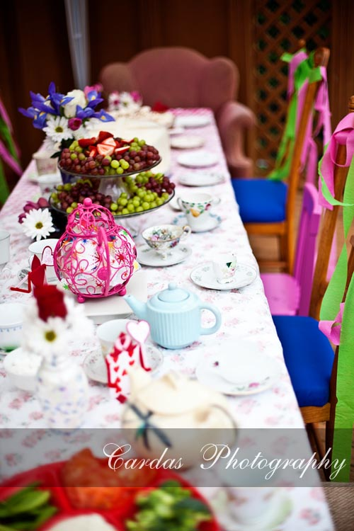Alice in Wonderland birthday party 001