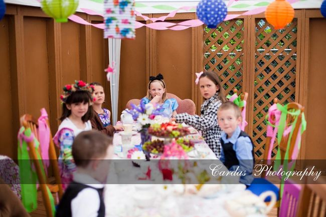 Alice in Wonderland birthday party 006