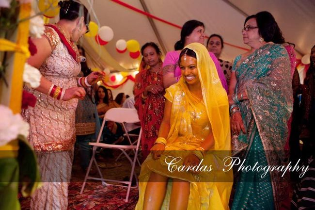 Indian wedding Oregon Haldi night (5)