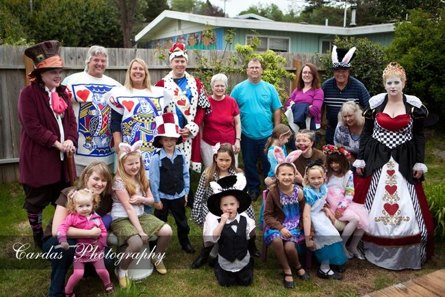 Alice in Wonderland birthday party 027