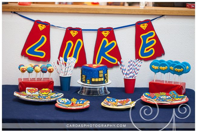 Superhero birthday party 003
