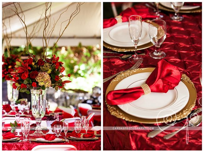Coos Bay Oregon Red and Gold wedding 020