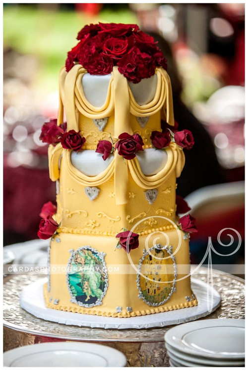 Coos Bay Oregon Red and Gold wedding 024