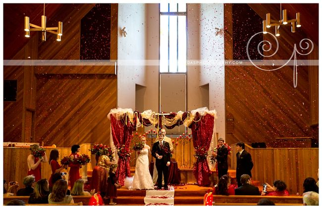 Coos Bay Oregon Red and Gold wedding 017