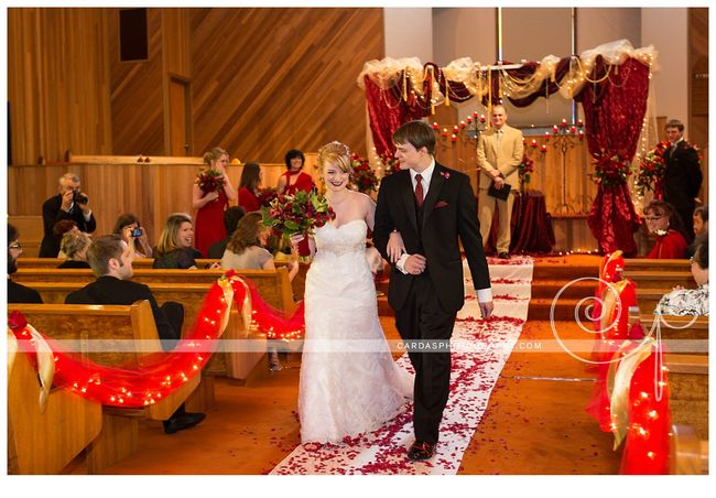 Coos Bay Oregon Red and Gold wedding 018