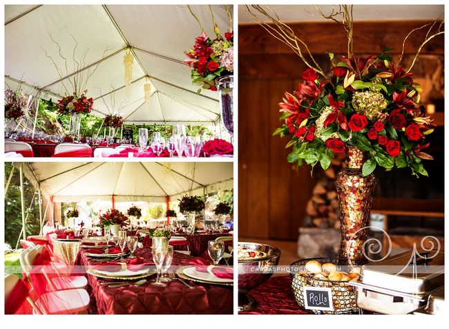 Coos Bay Oregon Red and Gold wedding 019