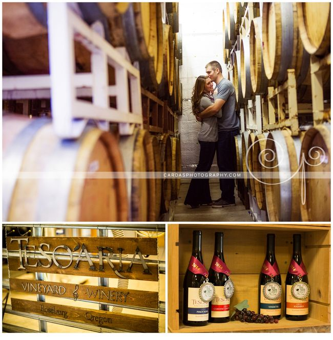 Roseburg winery engagement photography Tesoaria (6)