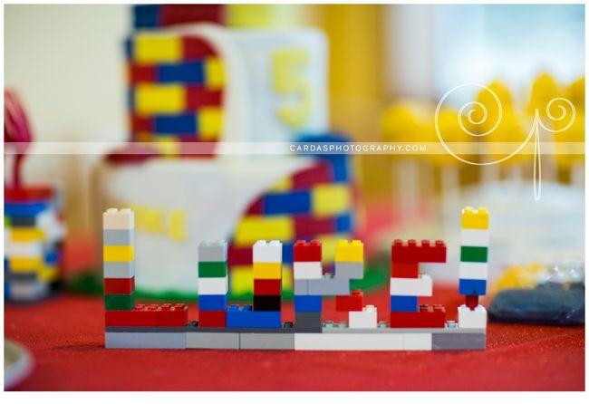 Lego 5th Birthday party cake (3)