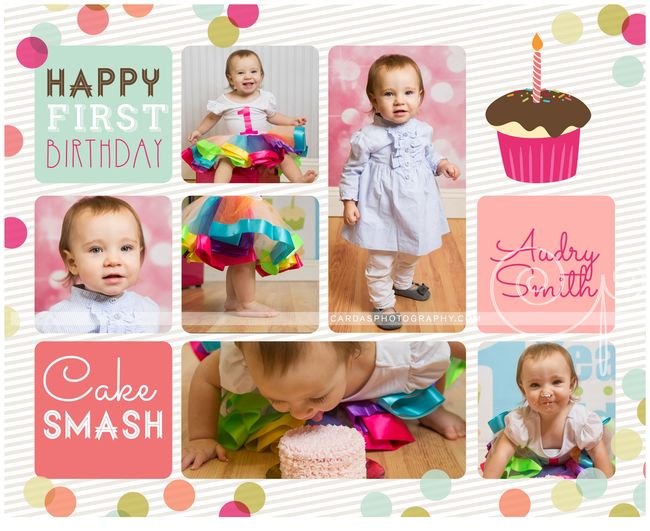 Audry 1st birthday cake smash (1)