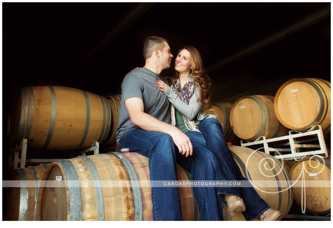 Roseburg winery engagement photography Tesoaria (10)